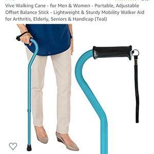 Accessories - New Unisex Vive Offset Walking cane